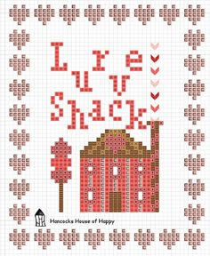 free valentine cross stitch pattern