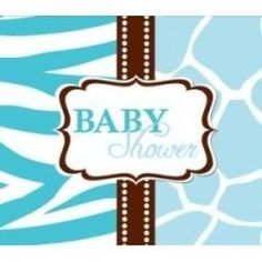 Free blue baby shower invitations