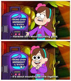Mabel is always the optimist.