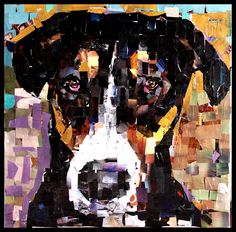 Samuel Price S Incredible Dog Portrait Collages Cut