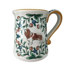 Cavalier King Charles Spaniel Mug // This is the sweetest Cavalier mug. Perfect for sipping hot coco or tea!