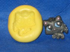 Littlest Pet Shop Cat Push Mold Food Safe Silicone #511 Chocolate Cake  Soap Candle by LobsterTailMolds on Etsy