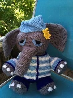 Elefant Eddy  häkeln
