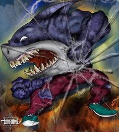 Street Shark #Attack #2014 #Ps #Ai