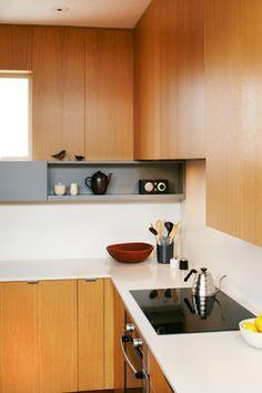 Compact Kitchen - modern - Kitchen - Seattle - SHED Architecture & Design