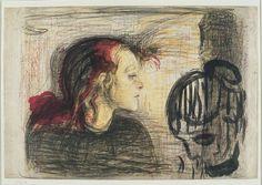 Edvard Munch, lithograph