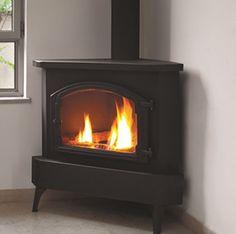Ortal Ortal Standalone Modern Corner Gas Fireplace