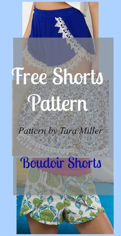 patrón cortos gratis