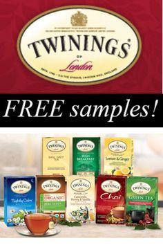 FREE teas from Twinings - http://closetsamples.com/free-teas-from-twinings/