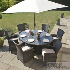 Garden Furniture You Can Leave Out All Year maze rattan 4 seat winchester swivel garden furniture set