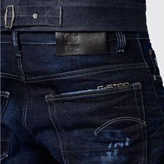 G-Star RAW   Men   Jeans   3301 Straight - Dark Aged