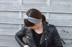 Gabulle in Wonderland: Je débute le tricot #3 : le headband à torsade en point jersey