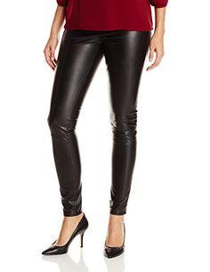 Sam Edelman Women's Skylar Faux Leather Leggings, Black, X-Small ❤ Sam Edelman Women's Contemporary Leggings Fashion, Women's Leggings, Leggings Are Not Pants, Faux Leather Leggings, Black Faux Leather, Fall Capsule Wardrobe, Fashion Trends, Vegan Leather, Clothes
