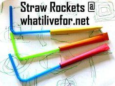 Straw rocket @ whatilivefor.net
