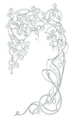 43 Ideas for art nouveau flowers Fleurs Art Nouveau, Motifs Art Nouveau, Motif Art Deco, Art Nouveau Pattern, Art Nouveau Design, Design Art, Art Nouveau Tattoo, Tatuagem Art Nouveau, Illustration Art Nouveau