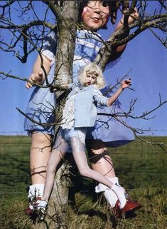 """""""Like a Doll"""" by Tim Walker.  Lindsey Wixson for Vogue Italia, 2012. S)"""