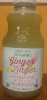What's Good at Trader Joe's?: Trader Joe's Organic Ginger Zinger Whats Good, Trader Joe's, Refreshing Drinks, Detox Drinks, Hot Sauce Bottles, Whole Food Recipes, A Food, Beverages, Spices