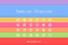 24 circle #icons for #free #download