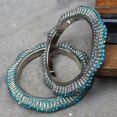 The Shradha Bangles by Indiatrend. Shop Now at WWW.INDIATRENDSHOP.COM