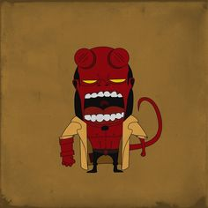 Angry Hellboy