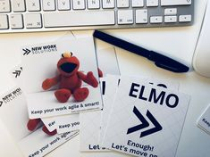 Enough Let's move on! The cards that rock your meetings! Lets Move, Monologues, Elmo, New Work, Meet, Templates, Let It Be, Rock, Cards