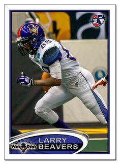 New Orleans VooDoo WR Larry Beavers