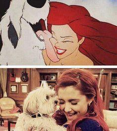 Look Alike- Ariana Grande & Ariel :)