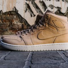 94bf9b5270d Air Jordan 1 Pinnacle Vachetta Tan Jordan 1, Jordan Shoes, Nike Air Force,. NOJO  Kicks Detroit