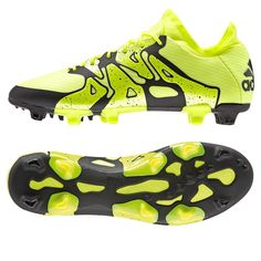 buy popular adbc2 38a7c Adidas X 15.1 FG AG Soccer Cleats (Solar Yellow Black Frozen Yellow).  Adidas FußballschuheAdidas CleatsAdidas ShoesAdidas FootballFootball ...