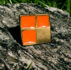 Ring aus Messing handgefertigt von Noordesigncologne auf Etsy