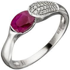 Dreambase Damen-Ring W wesselton 14 Karat Weißgo… Wessel, Ringe Gold, Heart Ring, Engagement Rings, Earrings, Ebay, Jewelry, Amazon, Sapphire
