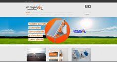 """Desde Indiproweb os presentamos nuestro nuevo trabajo web realizado para la empresa """"Atrapasol"""" dedicada al sector de las energias renovables en Benavente - Zamora. Podeis visitar su web al completo en www.atrapasol.com"""
