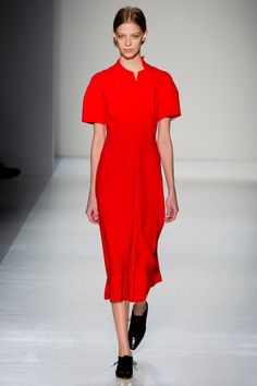 Victoria Beckham  AW fashion week 14