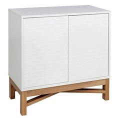 Buy Hygena Zander Textured Small Sideboard - White & Oak Effect at Argos.co.uk - Your Online Shop for Sideboards and dressers, Living room furniture, Home and garden.