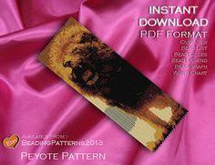 Peyote Pattern  Beading Pattern  Lions Roar by BeadingPatterns2013