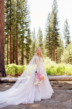 Gorgeous long sleeve Haley Paige wedding dress!