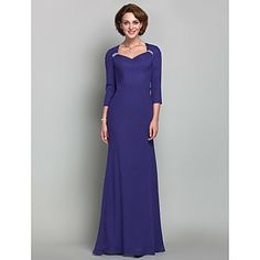 """Another on I could see """"you know who"""" in... in a different color of course.  Trumpet/Mermaid  Queen Anne  Chiffon  Mother of the Bride Dress (618842) – USD $ 98.99"""