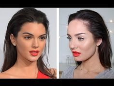 """""""Kendall Jenner's NEW Estee Lauder Lipstick Tutorial!"""" by Chloe Morello. She uses Sigma Beauty Brushes to achieve the look: http://www.sigmabeauty.com/brushes/c/317?utm_source=Pinterest&utm_medium=Po st&utm_content=Sigma%20Brushes&utm_campaign=Promo"""
