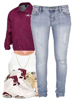 """Third Maroon Set"" by polyvoreitems5 ❤ liked on Polyvore featuring Topshop, MICHAEL Michael Kors, Casetify, Marc by Marc Jacobs, Standard Jean Co and David Yurman"