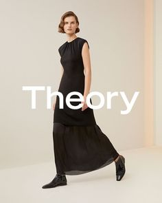 Theory spotlights its minimal aesthetic with the launch of its spring-summer 2019 campaign. Starring model Giedre Dukauskaite, the studio shots captured by… Campaign Fashion, Fashion Marketing, Fashion Editor, Stylists, Product Launch, Spring Summer, Style Inspiration, Summer Dresses, Civilization