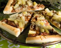 #Pizza Recipe-Pulled Pork and Pineapple Pizza