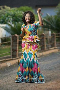 Latest African Fashion Dresses, African Print Dresses, African Dresses For Women, African Print Fashion, Africa Fashion, African Wear, African Attire, African Women, African Prints