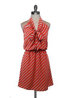 Delightful Stripes Dress