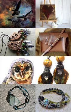 handmade delights for July gifts -  accessories to photographs to wall art
