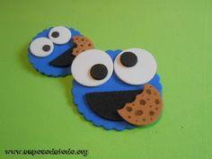 www.unpocodetodo.org - Broches de Tricky - Broches - Goma eva