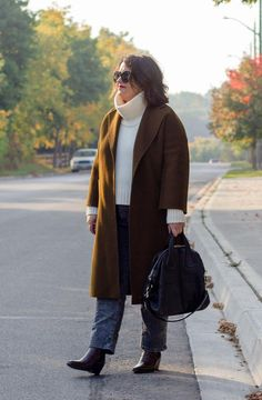everlane western boot, curated classic coat