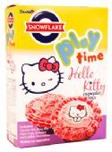 Snowflake Play Time Hello Kity Cupcake Mix