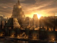 This HD wallpaper is about high-rise brown concrete building, babylone, tower, architecture, Original wallpaper dimensions is file size is Sumerian King List, Gate Of Babylon, Paris Skyline, New York Skyline, Cradle Of Civilization, Tower Of Babel, Prince Of Persia, Architecture Wallpaper, Fantasy City
