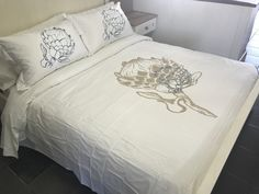 Egyptian Cotton Duvet Cover, Bed Sizes, Duvet Covers, Bed Pillows, Pillow Cases, Furniture, Home Decor, Pillows, Decoration Home