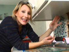 Very Good video for installing a kitchen tile backsplash